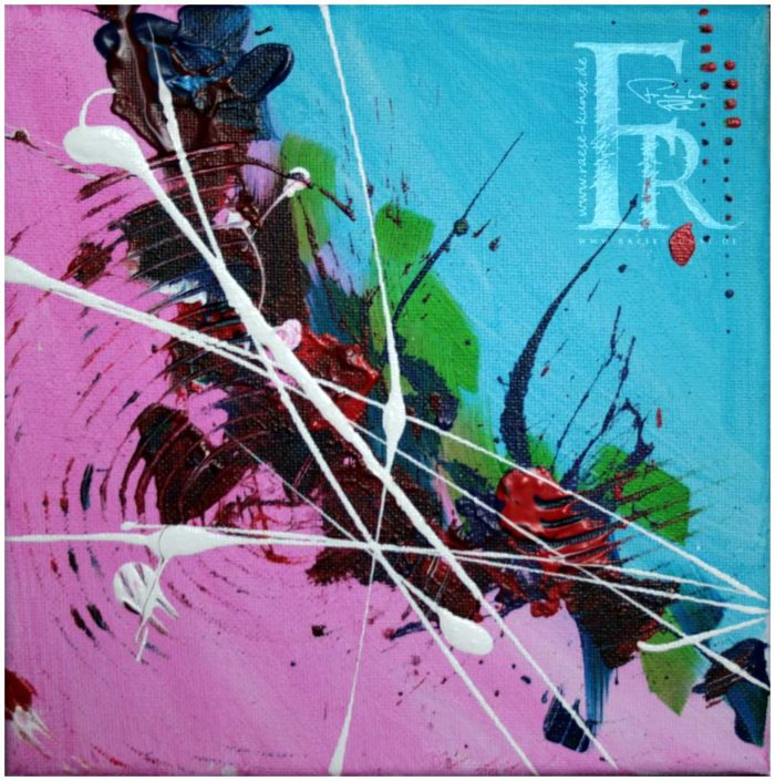 Franziska Raese Kunst Abstrakt Action Painting 1000