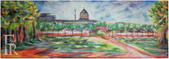 Franziska Raese Kunst Stadt Zauberhafter Palais Sommer in Dresden