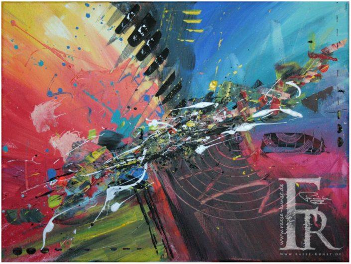 Franziska Raese Kunst Abstrakt Acrylbild Kunst