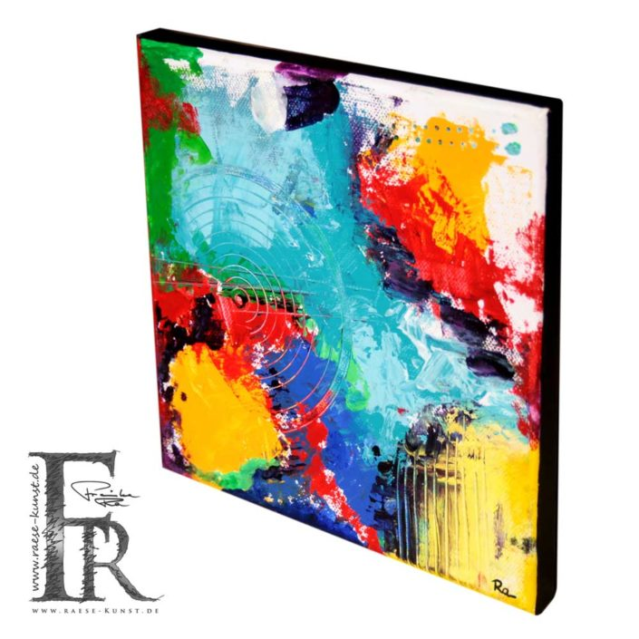 Franziska Raese Kunst Abstrakt Action Painting 1002